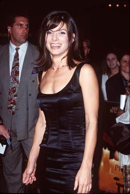 Sandra Bullock at the Century City premiere of Warner Brothers' Practical Magic