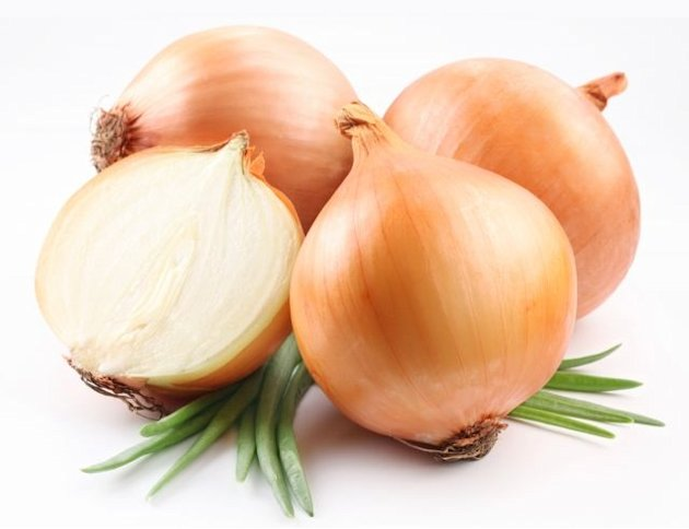 Onions emerged as  the 'cleanest' food item in a list ranking the most pesticide-laden foods in the US
