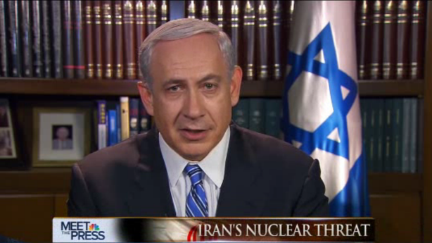 Netanyahu Uses Football to Explain His Concerns with Iran