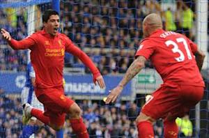 Everton 2-2 Liverpool: Suarez and Naismith make their mark in pulsating Merseyside derby