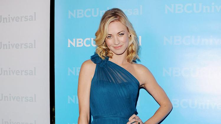 "Yvonne Strahovski (""Chuck"") attends the 2012 NBC Universal Winter TCA All-Star Party at The Athenaeum on January 6, 2012 in Pasadena, California."