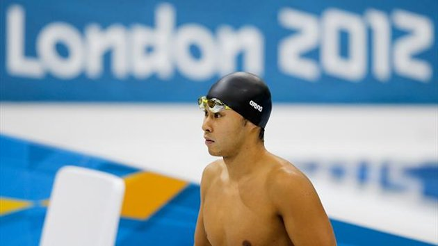 Swimmer Kosuke Kitajima of Japan prepares to compete at London 2012 (Reuters)