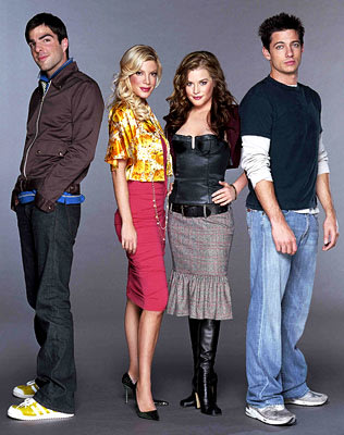 "Zachary Quinto, Tori Spelling, Brennan Hesser, James Carpinello VH-1's ""So Notorious"" Zachary Quinto"