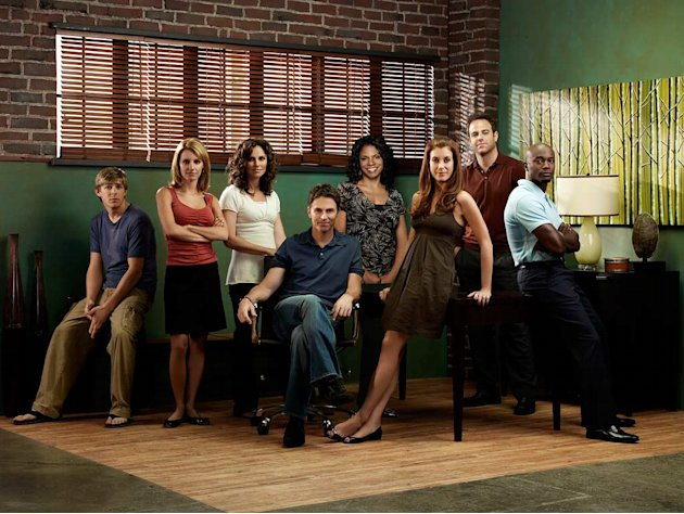 The Grey's Anatomy spinoff Private Practice on ABC comes in at No. 9 on the Yahoo! TV Buzz list. The cast is solid (Tim Daly, Taye Diggs,  Amy Brenneman) and the massive Grey's fan base hungry for som