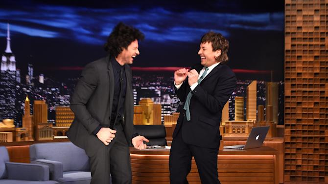 "Hugh Jackman Visits ""The Tonight Show Starring Jimmy Fallon"""