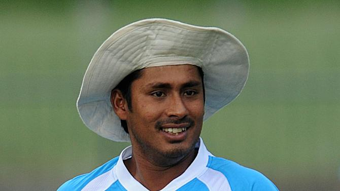 Former Bangladesh cricketer Mohammad Ashraful during a practice session in Pallekele on March 30, 2013