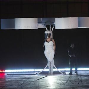 Lady Gaga's Flying Dress Looks Like A Giant Drone