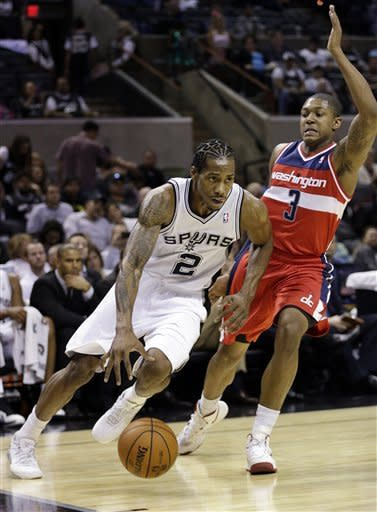 Spurs beat Wizards 100-85 in preseason finale