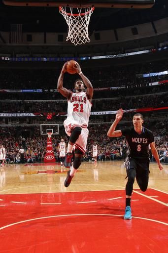 Butler leads Bulls past Timberwolves, 96-89