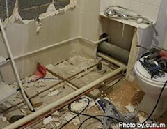 The 9-month bathroom from hell