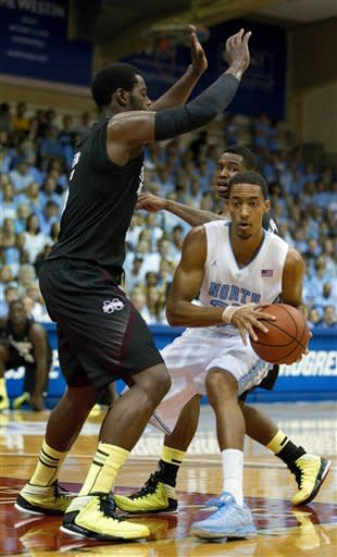 No. 9 North Carolina easily beats Miss. St. 95-49