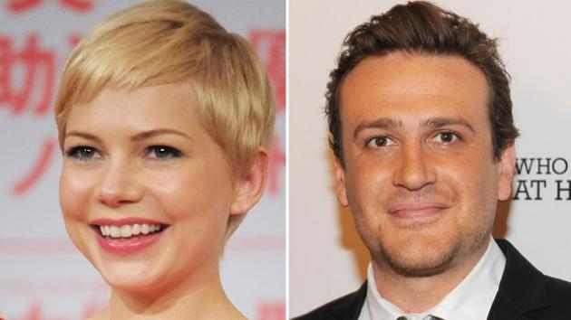 Michelle Williams / Jason Segel -- Getty Images