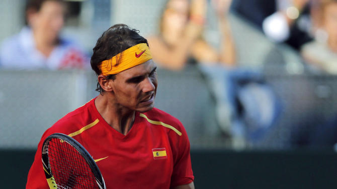Fresh off Open victory, Nadal wins in Davis Cup