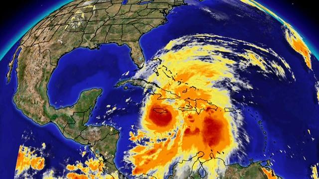 "Forecasters warn of a ""Frankenstorm"""