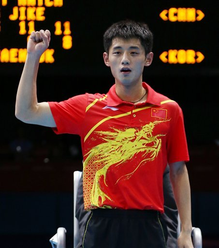 China sweeps all 4 golds in Olympic table tennis