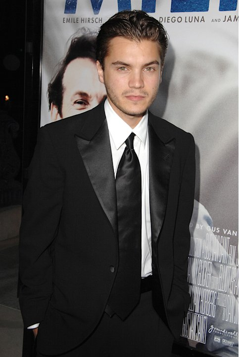 Milk Los Angeles premiere 2008 Emile Hirsch