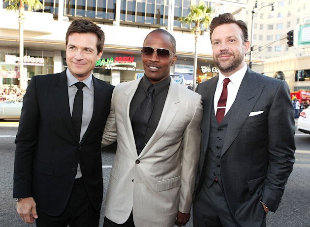 Horrible Bosses 2011 LA Premiere Jason Bateman Jamie Foxx Jason Sudeikis
