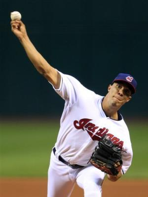 Ubaldo Jimenez pitches Indians past Red Sox 5-3