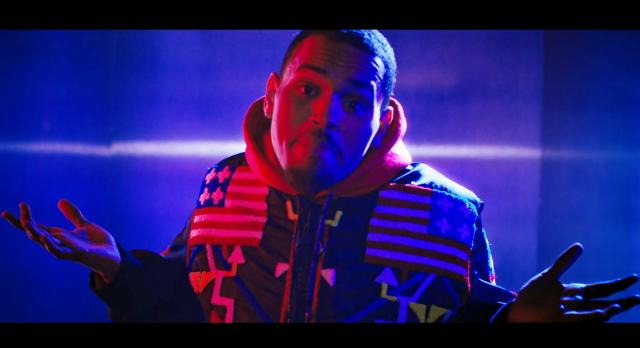 "Chris Brown Channels His Inner Super Power In ""Fine By Me"" Video"
