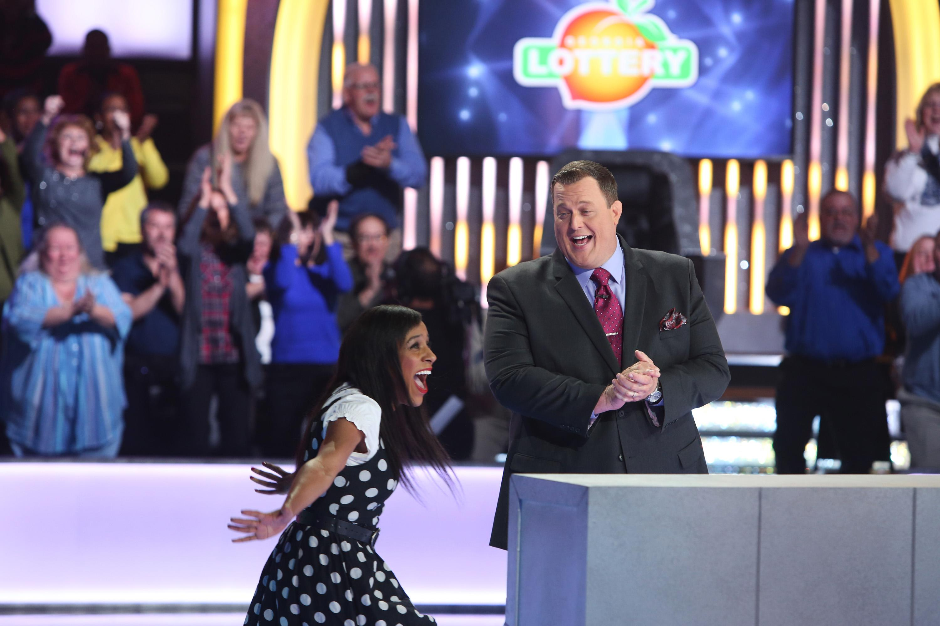 Game show is lottery, Monopoly combo; Billy Gardell hosts