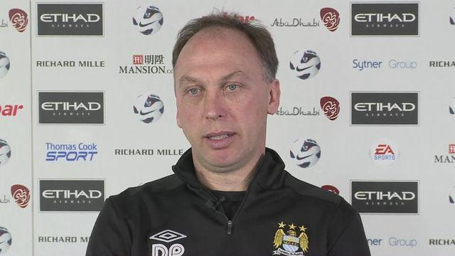 Platt looks forward to FA Cup final [AMBIENT]