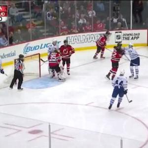 Cory Schneider Save on Mike Santorelli (01:53/3rd)