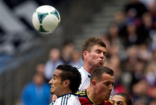 Camilo helps Whitecaps tie Real Salt Lake 1-1