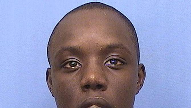 This undated photo provided by the Illinois Department of Corrections shows Robbie Patton. Champaign police said Wednesday, Sept. 28, 2016, that an arrest warrant for a first-degree murder charge has been issued for Patton in the deadly shooting at a party Sunday, Sept. 25 on the University of Illinois campus in Champaign, Ill. (Illinois Department of Corrections via AP)