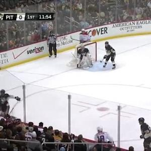 Kris Letang Hit on Tom Wilson (08:10/1st)