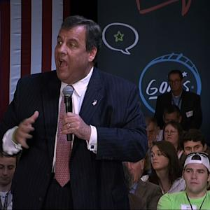 Gov. Christie on Speaker Race: 'Who Cares'