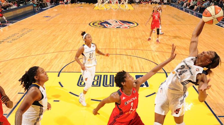 Zellous leads Fever past Mystics 77-70