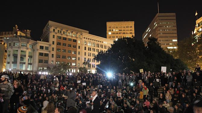 Occupy Oakland Protesters Demonstrate Day After Clash With Police