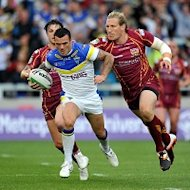 Chris Bridge, centre, has missed out on a place in Warrington&#39;s cup final squad