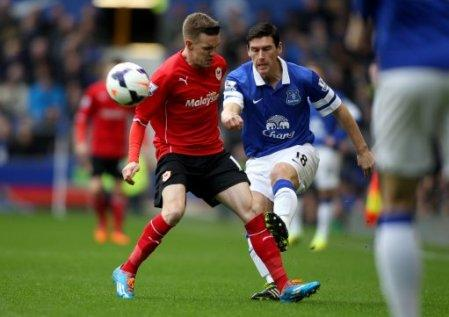 Soccer - Barclays Premier League - Everton v Cardiff City - Goodison Park