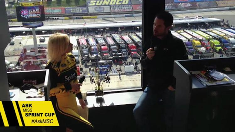 Ask Miss Sprint Cup: Brian Vickers