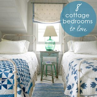 8 Cottage Bedrooms to Love