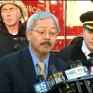 Raw Video: Morning Briefing On Mission Bay Fire