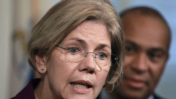 Senator Elizabeth Warren Lashes Out at AIG for Biting 'the Hand That Fed Them'