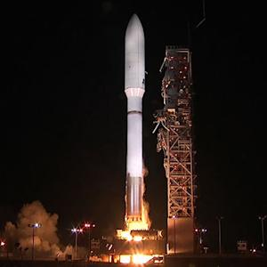 Atlas V rocket launches on secret mission