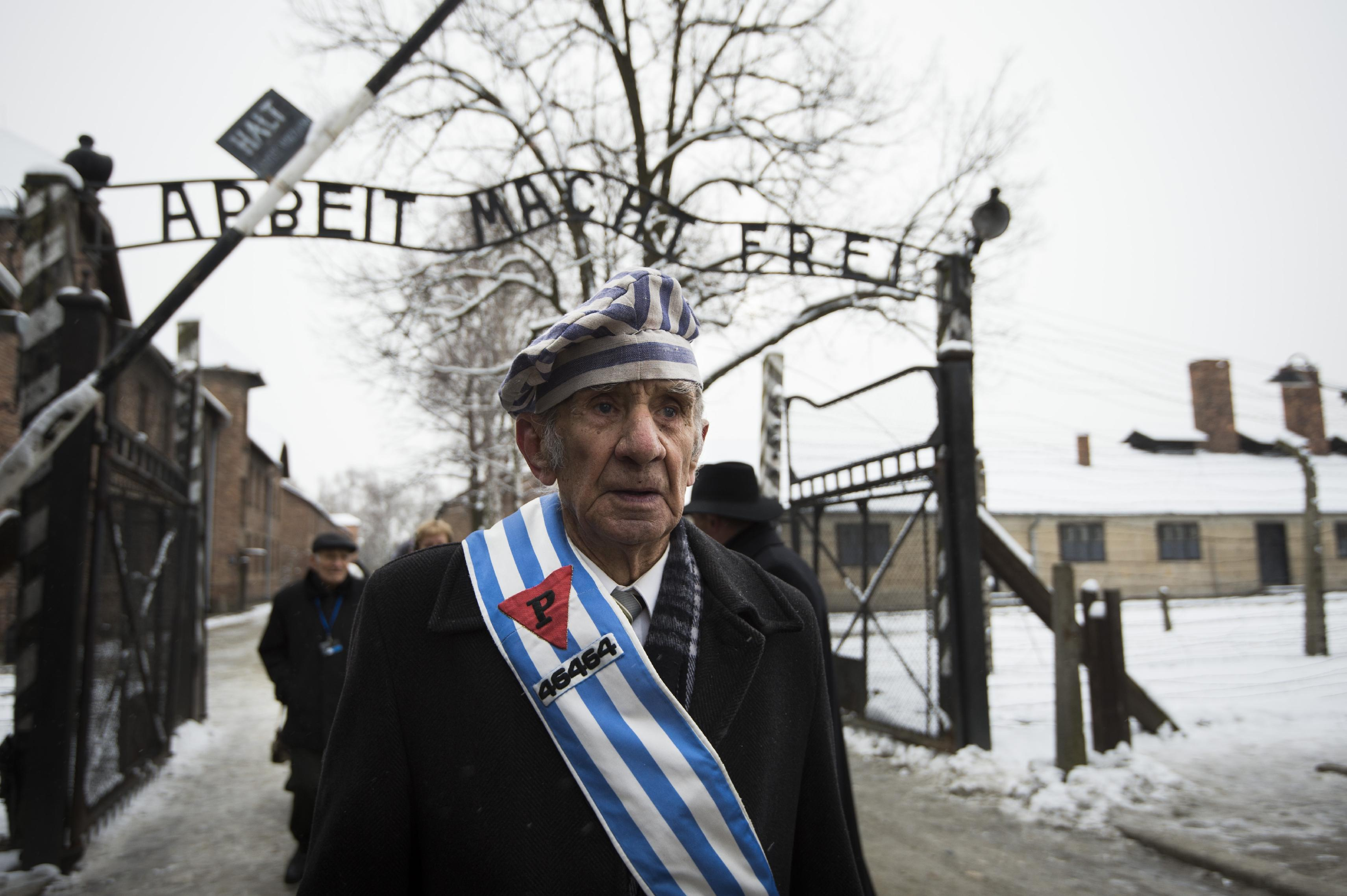 Survivors return to Auschwitz as leaders warn of anti-Semitism