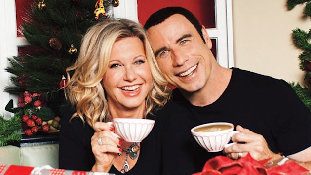 Olivia Newton-John, John Travolta Reunite for Charity Christmas Album (ABC News)