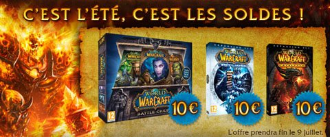 Tout World of Warcraft pour 30 euros