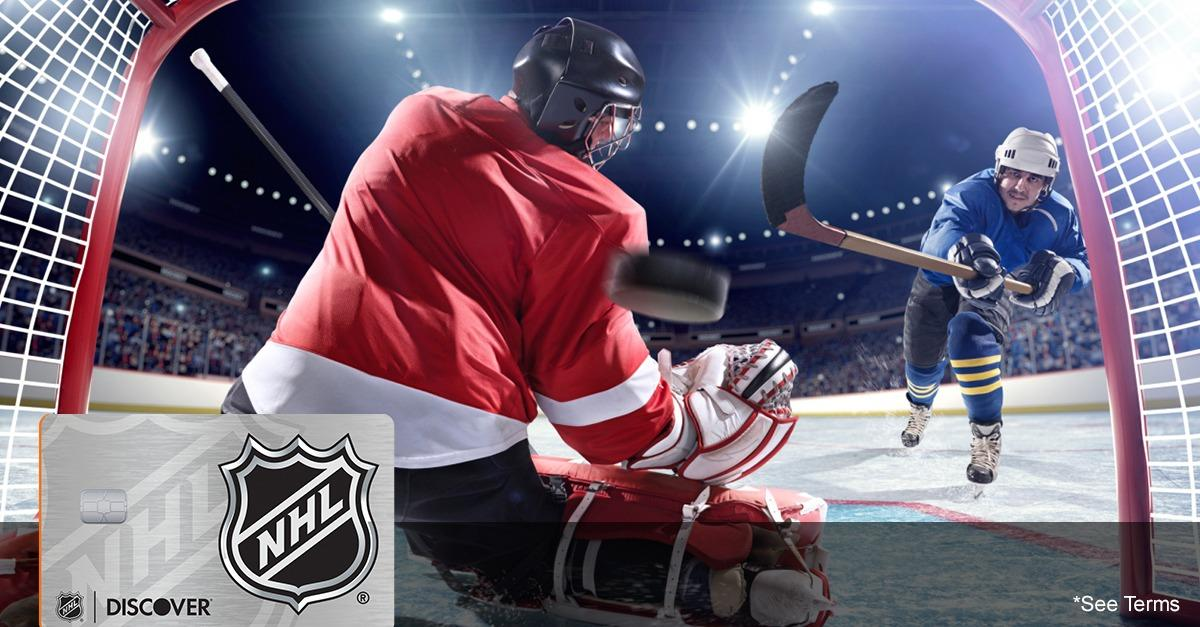 Hockey's Back! Get Your NHL® Discover it® Card Now