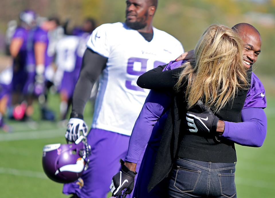 Adrian Peterson has dealt with tragedy often