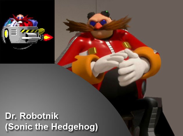 Dr. Robotnik/Dr. Eggman (Sonic)