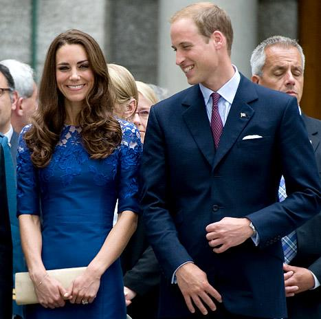 PICTURE: See Pregnant Kate Middleton, Prince William's New London Home