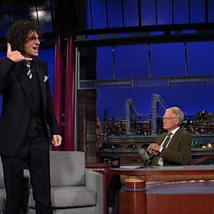 David Letterman - Howard Stern Fights The Jay Leno War