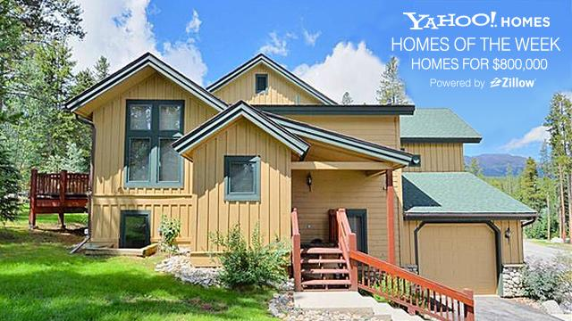Yahoo! Homes of the Week: Homes for $800K cover