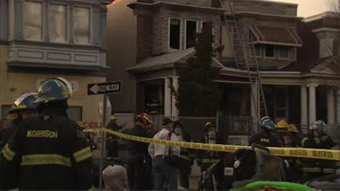 Man critical after house fire in Hunting Park