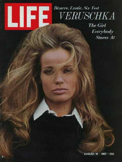 On the cover of Life Magazine